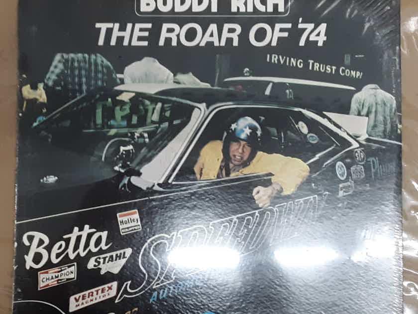 Buddy Rich - The Roar of '74 SEALED VINYL LP ORIGINAL 1974 Groove Merchant GM 528