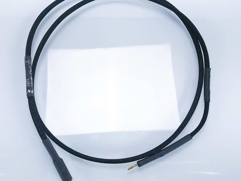 Synergistic Research High Def Grounding Cables; 1.25m Banana Terminated (16775)
