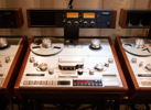 "Studer A-820 master recorder w/ 1/4"" & 1/2"" heads, guides and hubs"