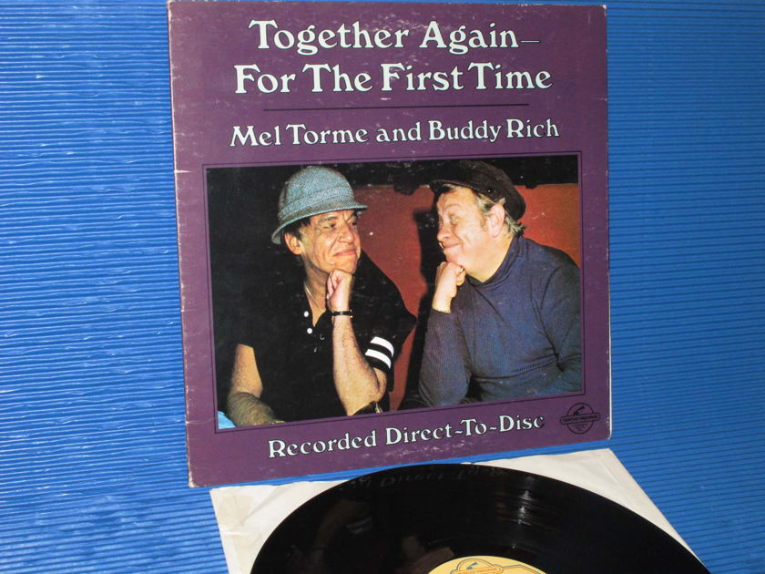 """MEL TORME & BUDDY RICH   - """"Together Again For The First Time"""" -  Century 1978 D-D German pressing"""