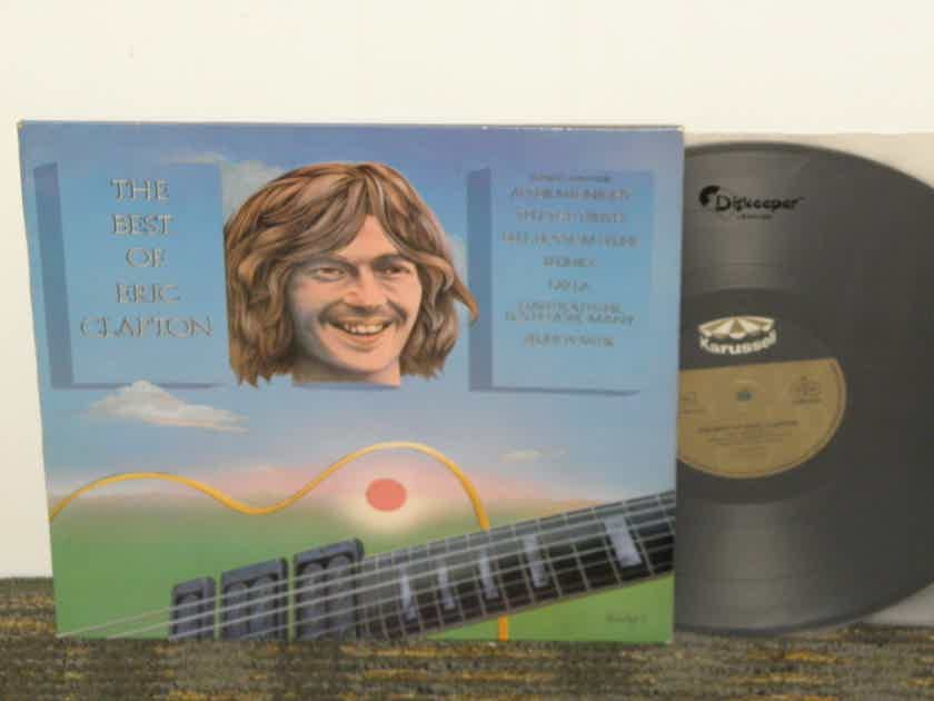 """Eric Clapton The Best of Eric Clapton GERMAN Import from 70's 25% off +Free Shipping""""!!!"""