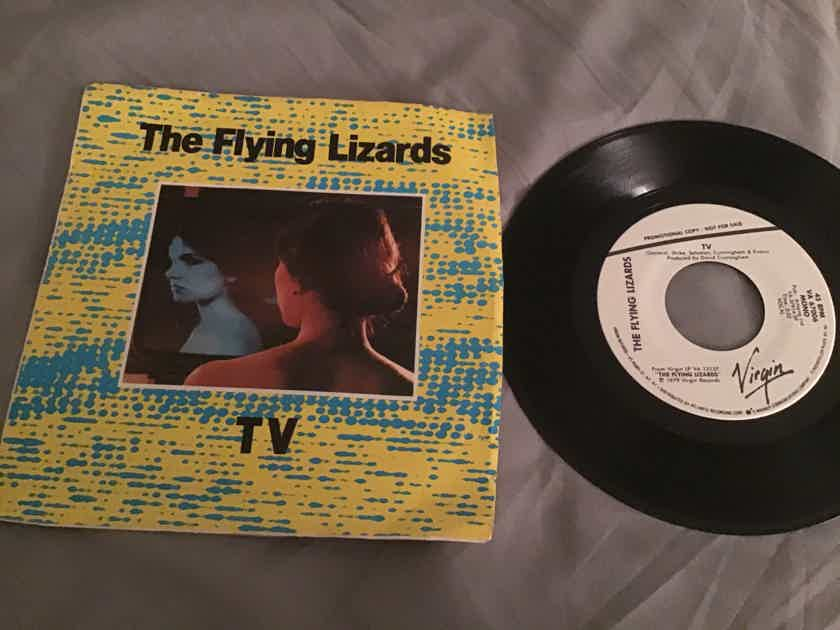 The Flying Lizards Promo Mono/Stereo 45 With PS NM