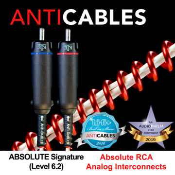 "ANTICABLES Level 6.2 ""ABSOLUTE Signature"" Analog RCA ICs"
