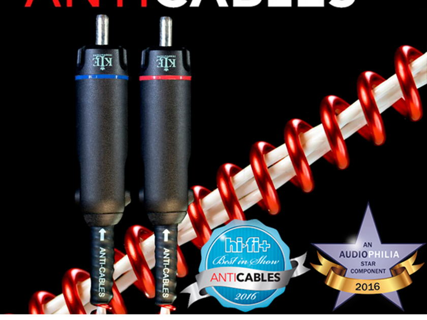 """ANTICABLES Level 6.2 """"ABSOLUTE Signature"""" Analog RCA ICs (New Release)"""