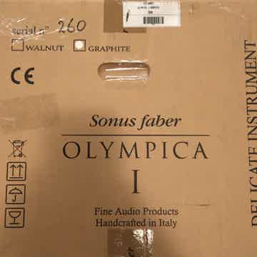Sonus Faber Olympica I Rare Graphite Finish - Stands in...