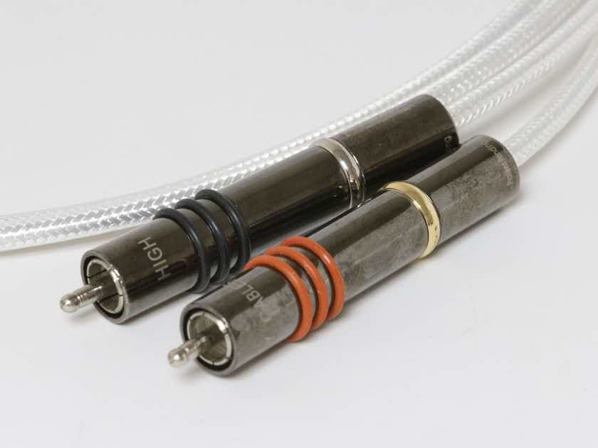 High Fidelity Cables CT-1 RCA interconnects, 1.5m, 60% off