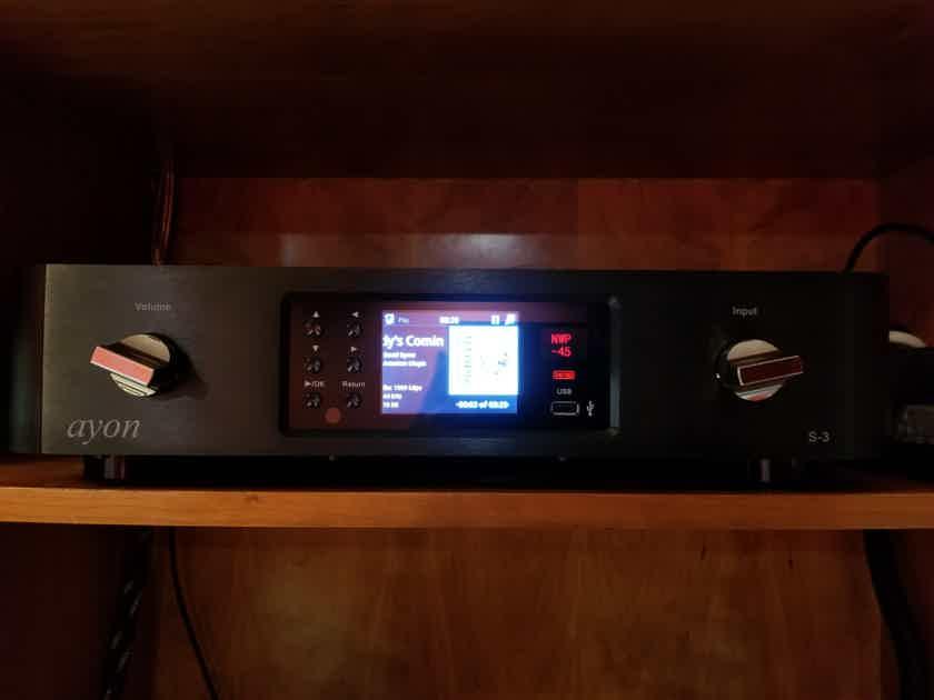 Ayon Audio S-3 Network Player Vacuum Tube