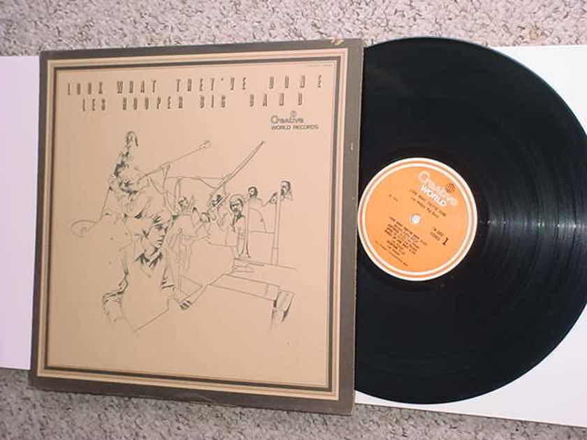 Les Hooper big band lp record - look what theyve done  CREATIVE CW 3002 Stereo