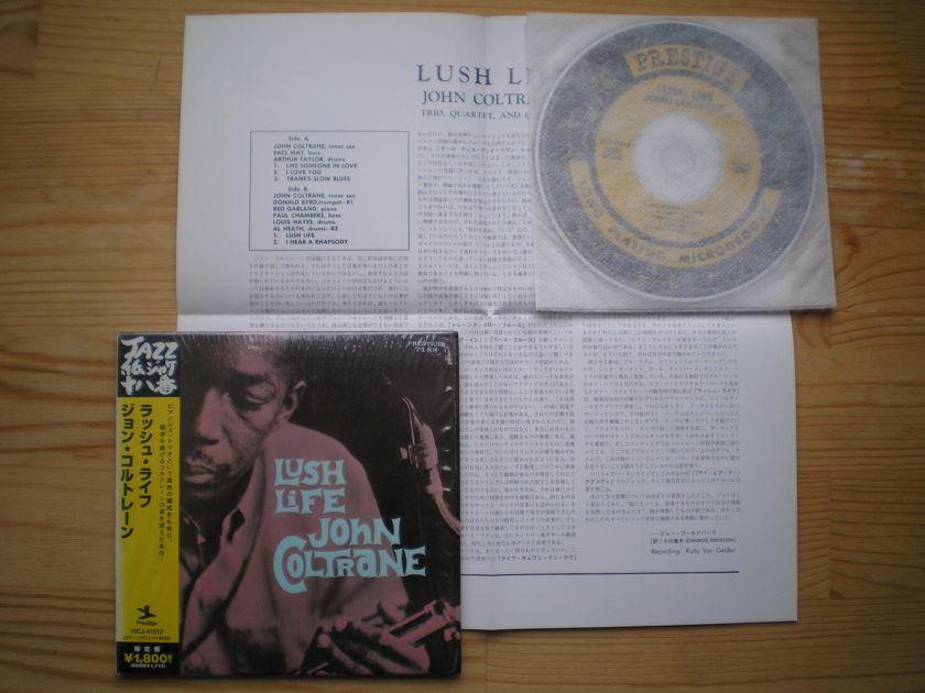 John Coltrane - Lush life Japan mini-lp