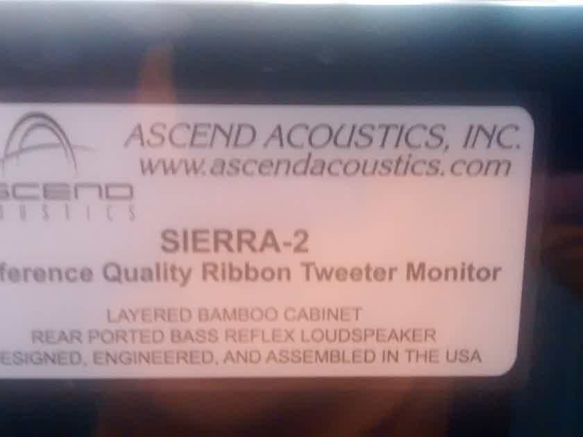 Ascend Acoustics sierra 2 Reference Ribbon Monitors