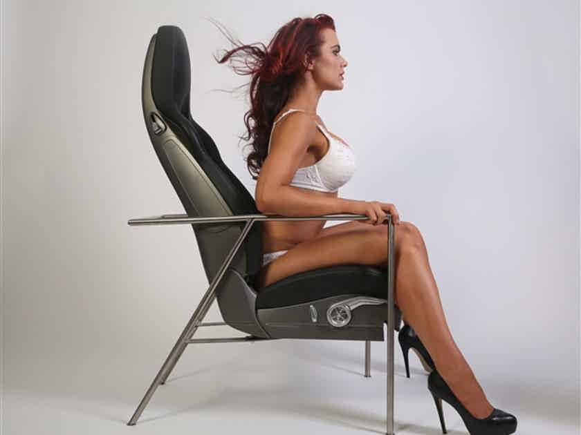Authentic Porsche lounge chair