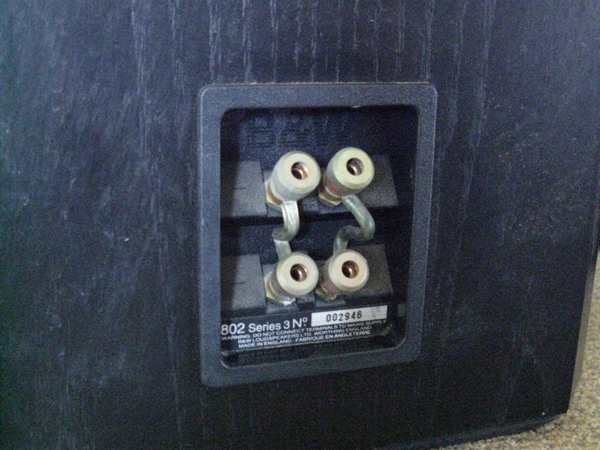 Bowers & Wilkins Matrix 802 Series 3 Loudspeakers !