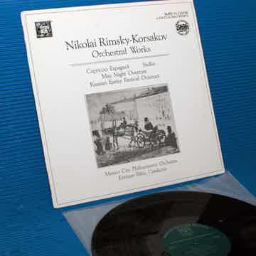 "RIMSKY-KORSAKOV / Batiz   - ""Orchestral Works"" -  Music..."