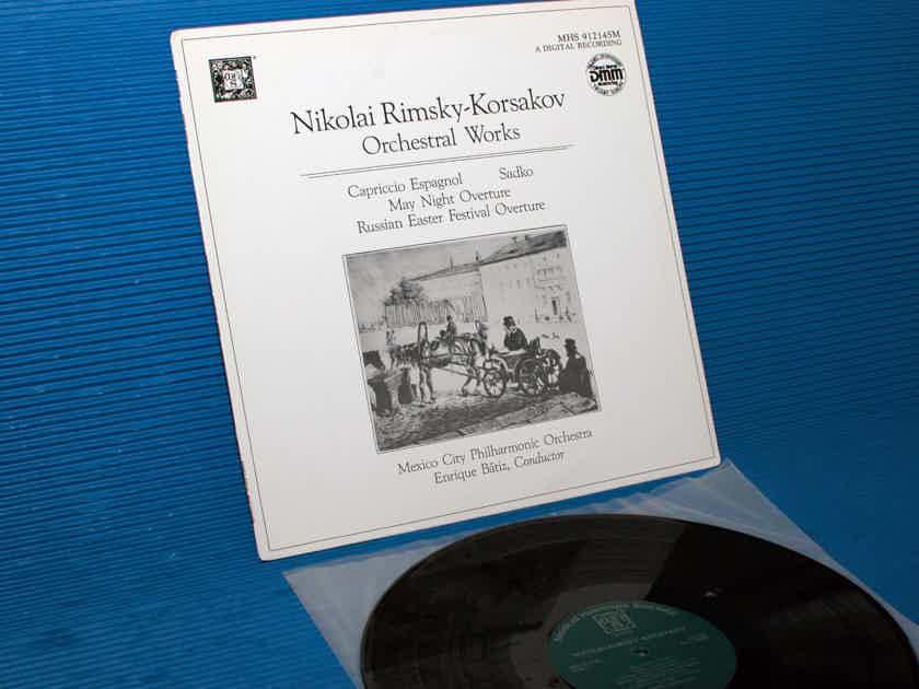 "RIMSKY-KORSAKOV / Batiz   - ""Orchestral Works"" -  Musical Heritage Society DMM"