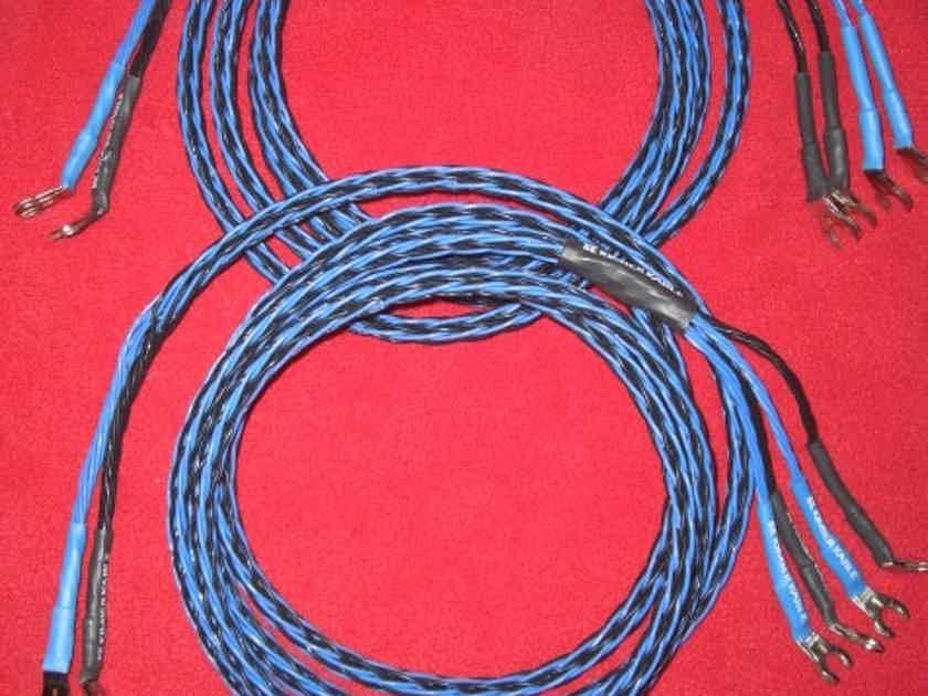 Kimber Kable 8TC Biwire Speaker Cables *2.5 Meter Pair* W/Postmaster Spades