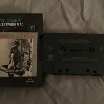 Fleetwood Mac Pre Recorded Cassette  Future Games