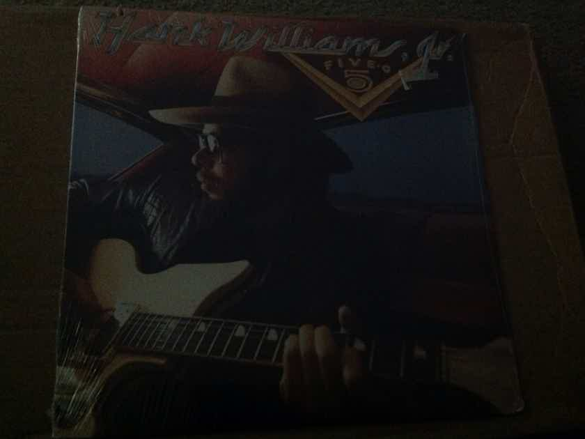 Hank Williams JR. - Five-O Curb Records Sealed Vinyl LP