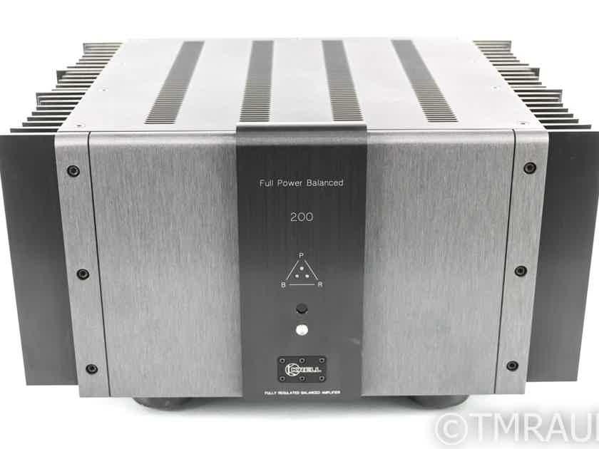 Krell FPB-200 Stereo Power Amplifier; FPB200 (23321)