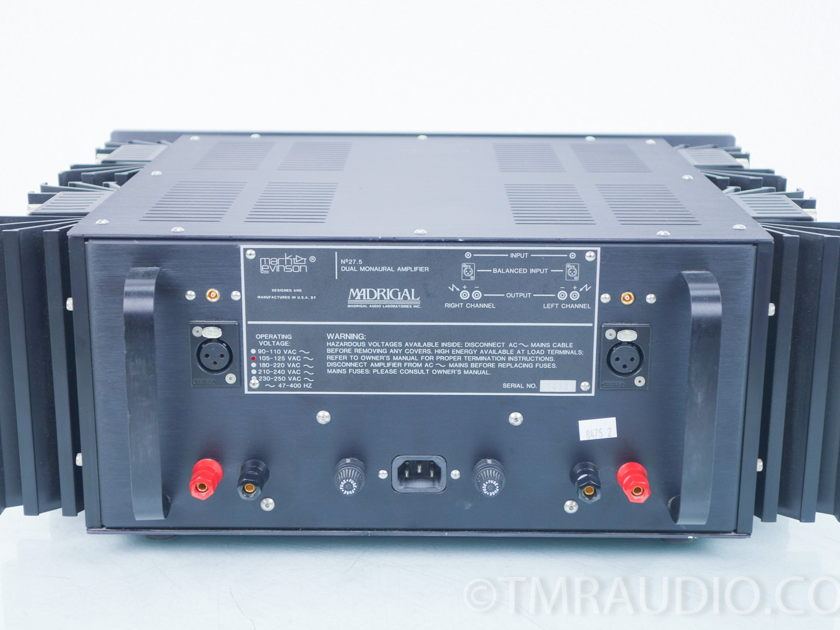 Mark Levinson No. 27.5 Power Amplifier (8475)