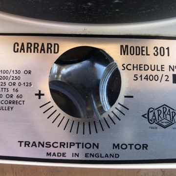 Garrard 301 Turntable