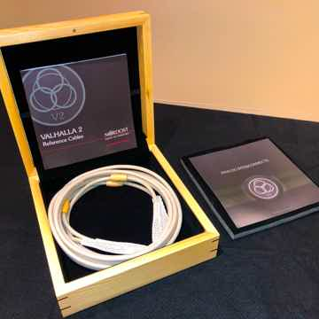 Nordost Valhalla 2 RCA Interconnect Cable 3.5m