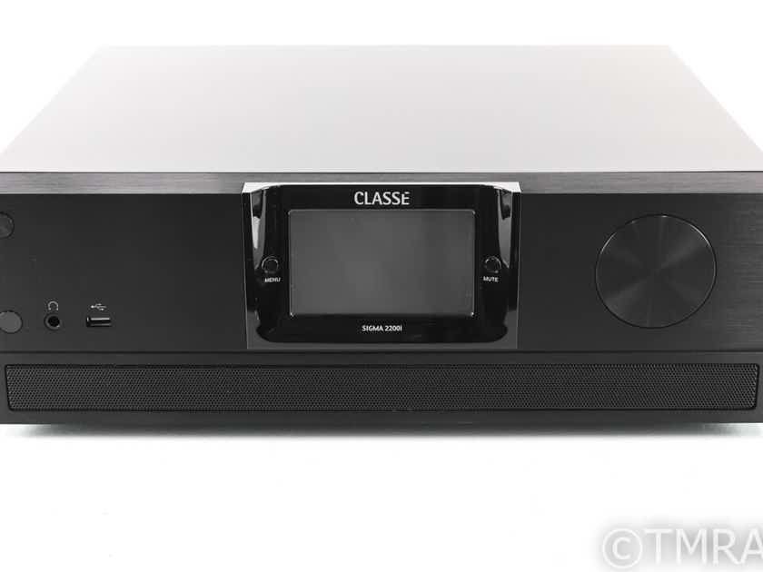 Classe Sigma 2200i Stereo Integrated Amplifier; HDMI; Processor; Warranty (27951)