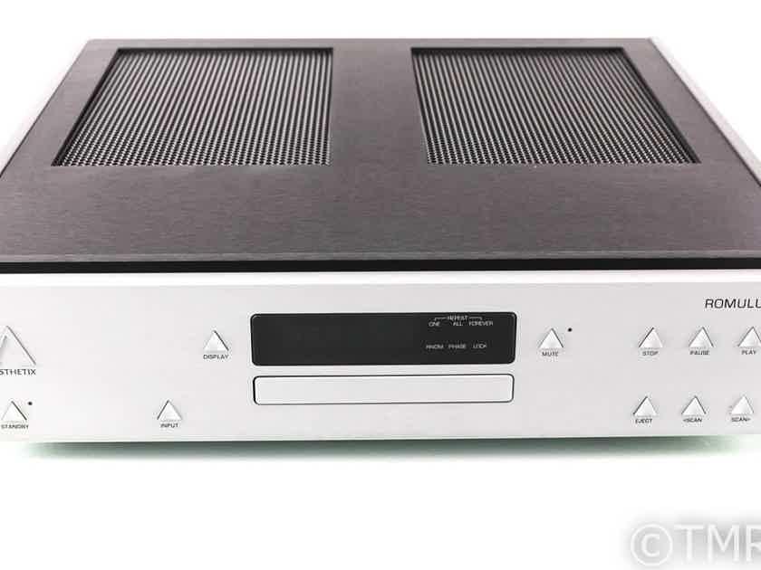 Aesthetix Romulus Tube DAC / CD Player; D/A Converter (No Remote) (26969)