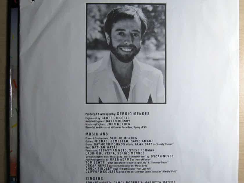 Sergio Mendes Brasil '88 - Magic Lady - Promo 1979 Elektra 6E-214