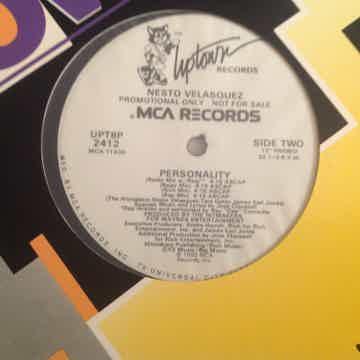 Nesto Valasquez Personality Uptown Records Promo 12 Inc...