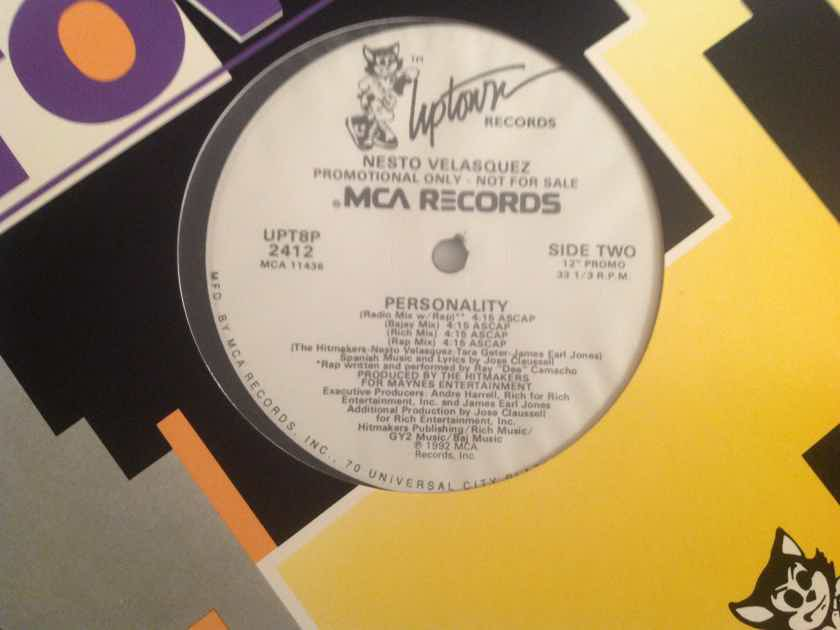 Nesto Valasquez Personality Uptown Records Promo 12 Inch EP