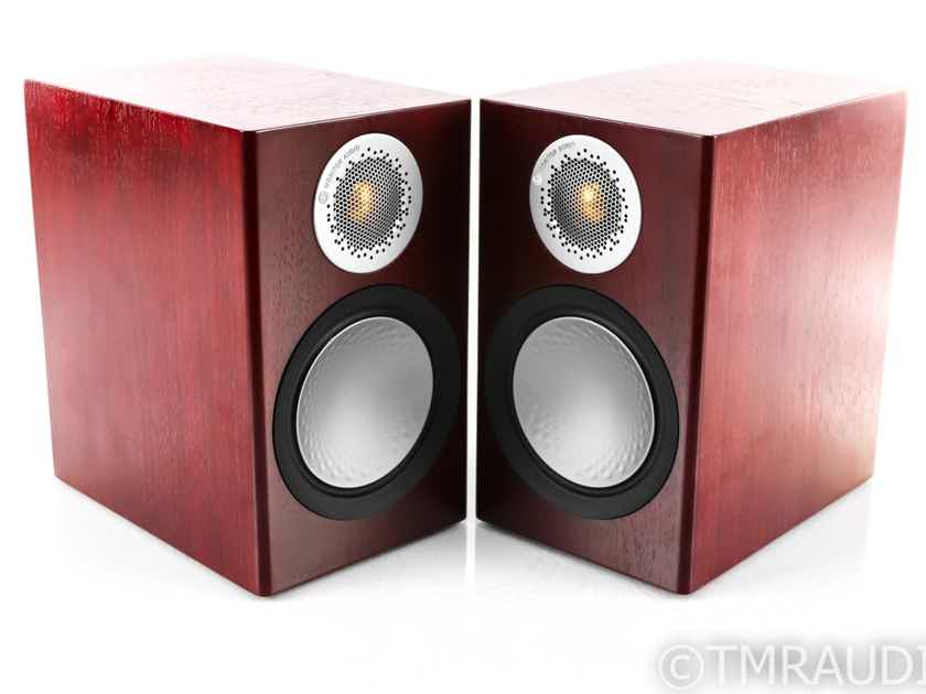 Monitor Audio Silver 50 Bookshelf Speakers; Rosenut Pair (28533)