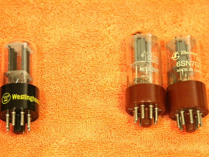 6SN7 smorgasbord blowout Tung Sol, Sylvania, NU...