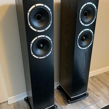 Fyne Audio F501 Floorstanding Speakers -- 90dB Sensitiv...