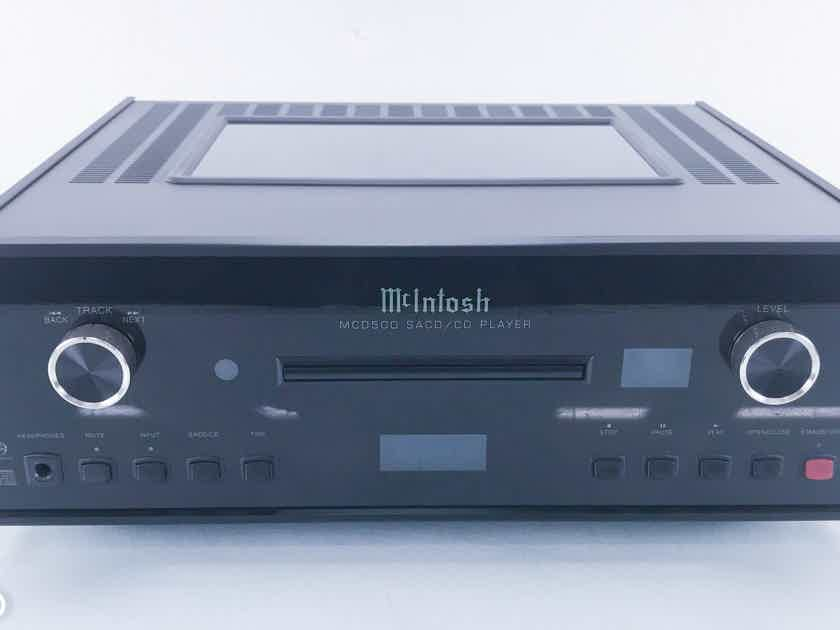 McIntosh MCD500 SACD / CD Player; MCD-500 (11243)