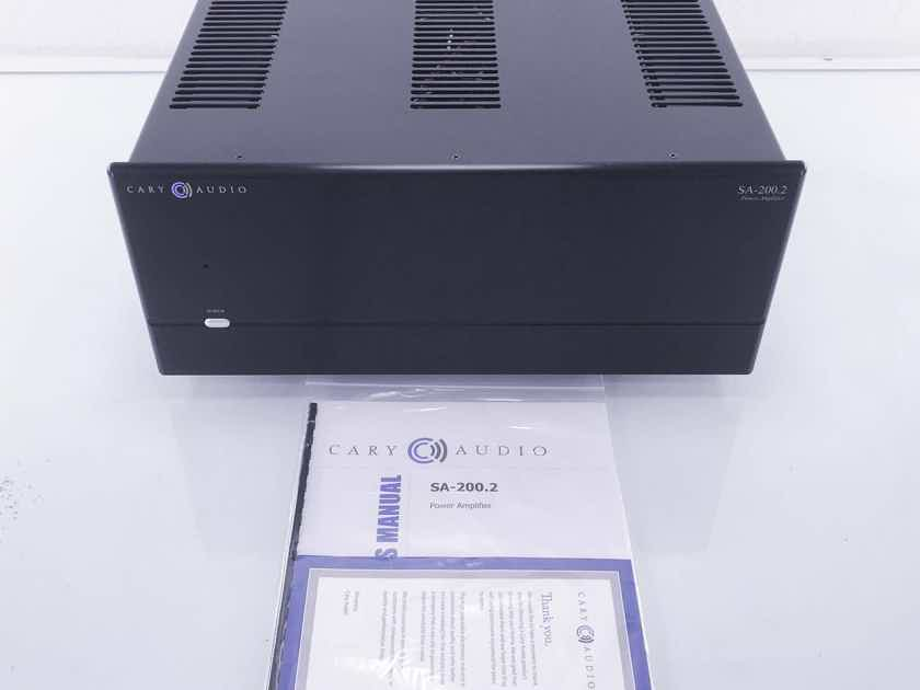 Cary  SA-200.2  Stereo Power Amplifier; Black (10567)