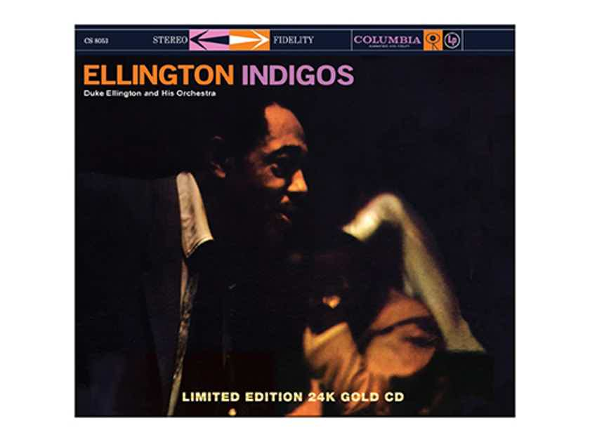 Duke Ellington Ellington's Indigos Limited Ed Gold CD