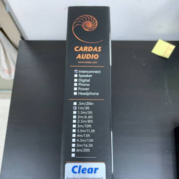 Cardas Audio Clear