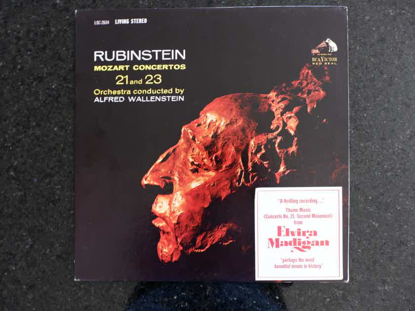 Rubinstein plays Mozart Piano Concerto # 21 and 23