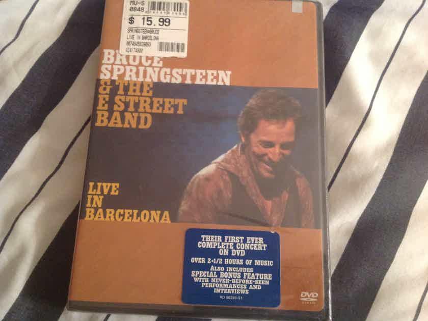 Bruce Springsteen & The E Street Band Live In Barcelona DVD