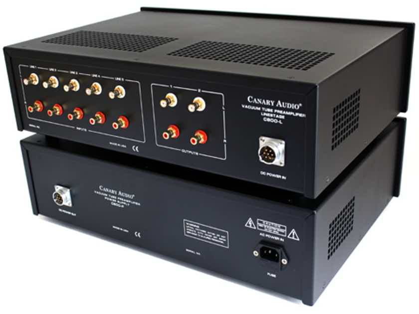 Canary Audio C800MK-II Tube Preamplifier. Excellent.