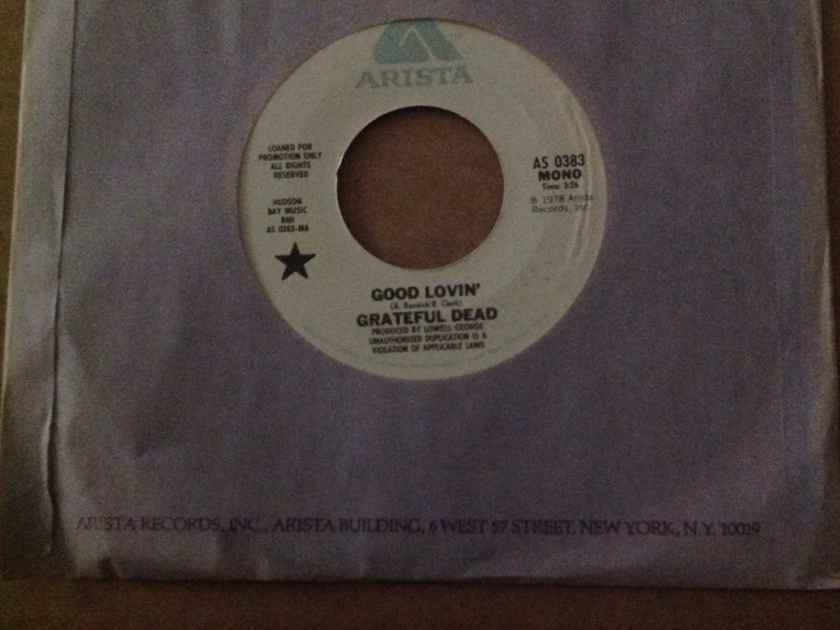 Grateful Dead - Good Lovin' Arista Records Promo 7 Inch Single Mono/Stereo 45 Vinyl NM