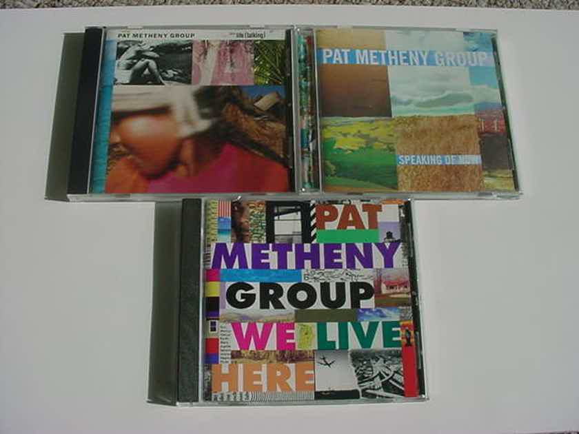 JAZZ CD LOT OF 3 cd's - Pat Metheny related see add