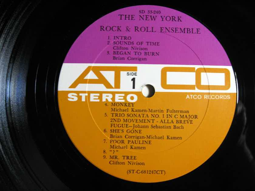 The New York Rock & Roll Ensemble - The New York Rock & Roll Ensemble - Original 1968 ATCO Records ‎SD-33-240