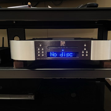 Moon 650D Transport and CD Player by Simaudio