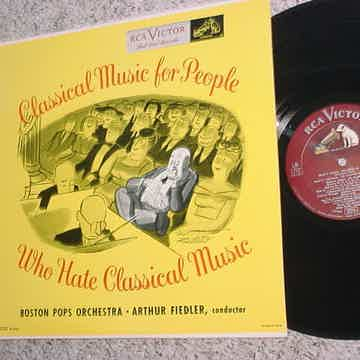 Arthur Fiedler Boston POPS RCA Victor LM 1752 Classical music  people who hate Classical music