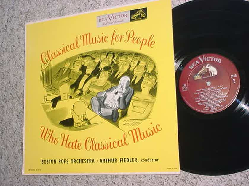 Arthur Fiedler Boston POPS RCA Victor LM 1752 Classical music for people who hate Classical music
