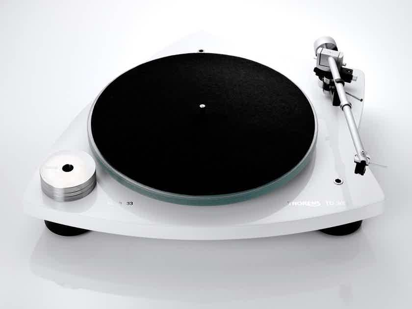 Thorens TD-309 Gloss White Turntable w/ Arm & AT95 Cartridge