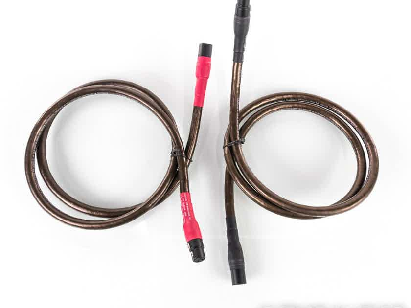 Cardas Hexlink Golden 5-C XLR Cables; 1.5m Pair Balanced Interconnects; 5C (19648)