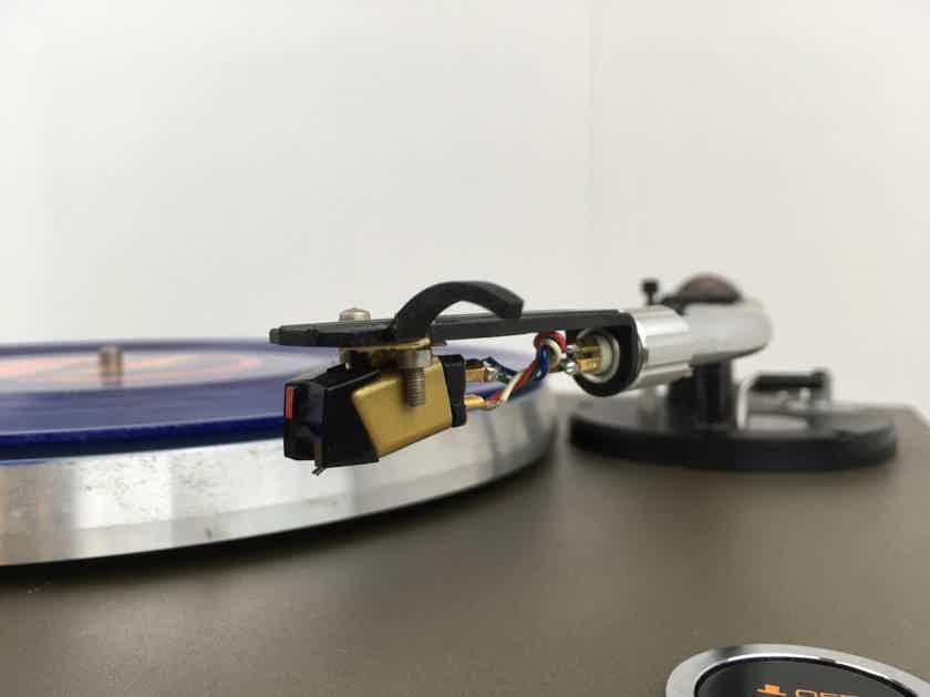 Micro Seiki MB-10 Turntable with New Grado Cartridge, Tested