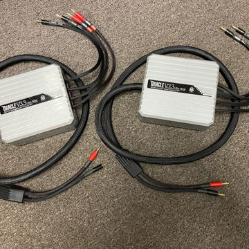 MIT Cables Oracle V3.3bw Speaker Cables, Bi-Wire